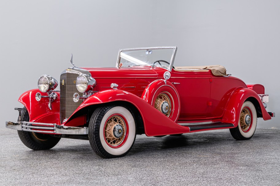 1933 Cadillac 355C V8 Convertible Coupe