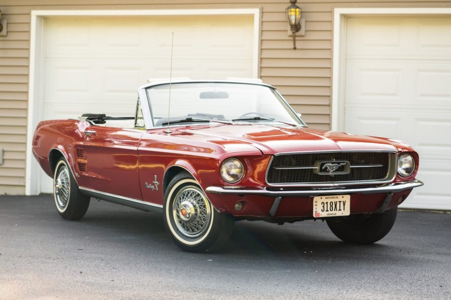 No Reserve: 1967 Ford Mustang Convertible