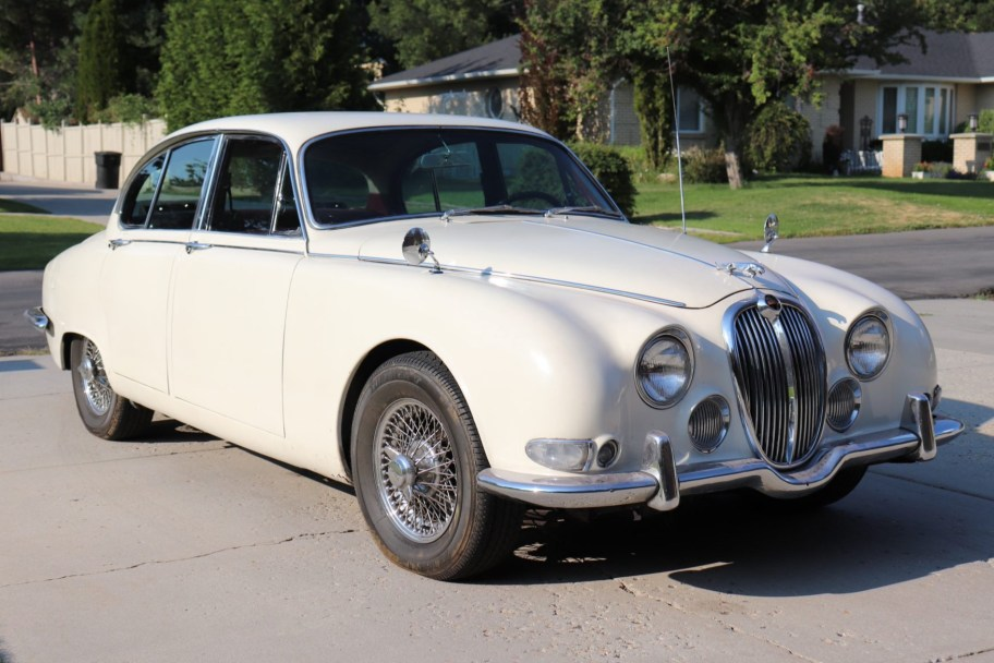 No Reserve: 1967 Jaguar S-Type Project
