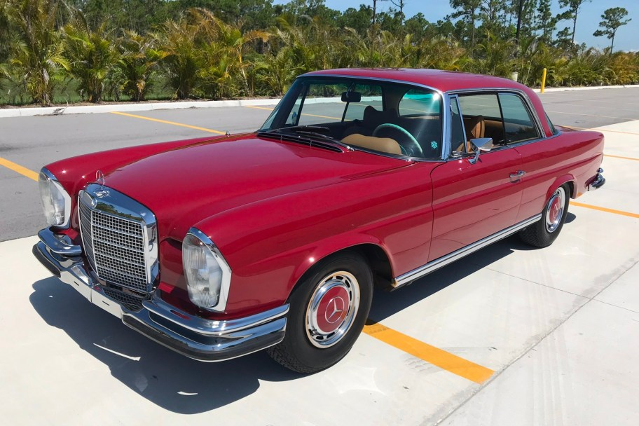 1971 Mercedes-Benz 280SE 3.5 Coupe 6-Speed