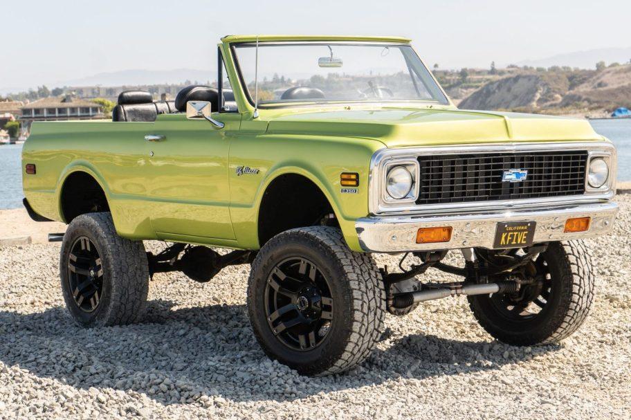 No Reserve: 1972 Chevrolet K5 Blazer