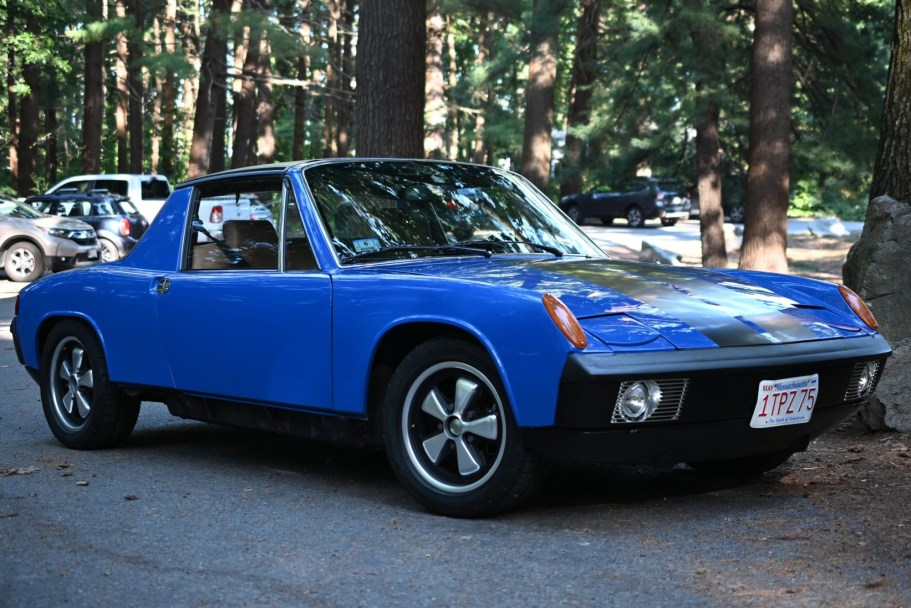 Twin Plug 2.7L-Powered 1973 Porsche 914