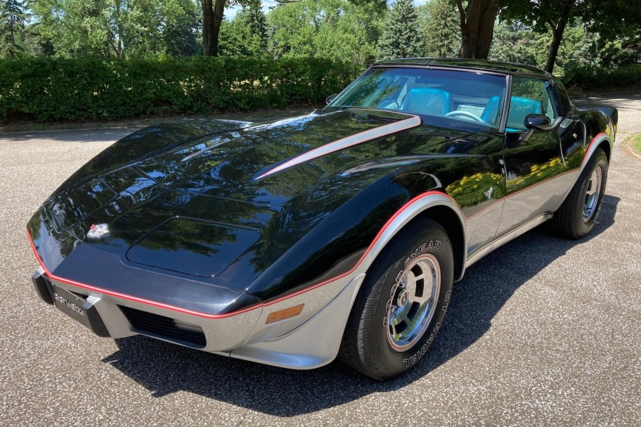 1,250-Mile 1978 Chevrolet Corvette Pace Car Edition