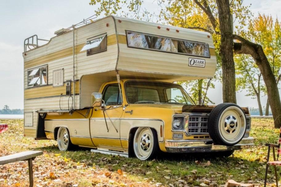 1979 Chevrolet C20 Scottsdale and Ozark Camper