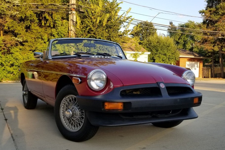 No Reserve: 1980 MG MGB Roadster