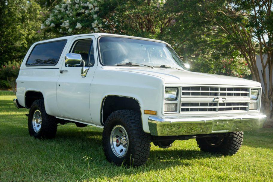 No Reserve: 1986 Chevrolet D10 Blazer Diesel