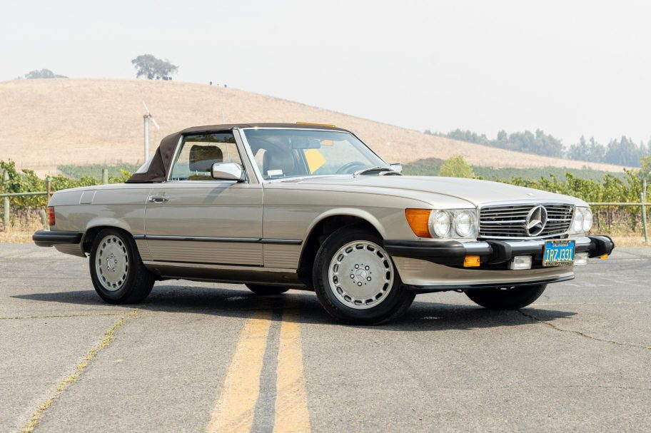 One-Owner 1986 Mercedes-Benz 560SL