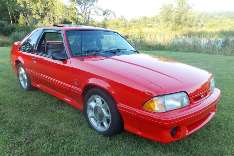 Supercharged 28k-Mile 1993 Ford Mustang SVT Cobra