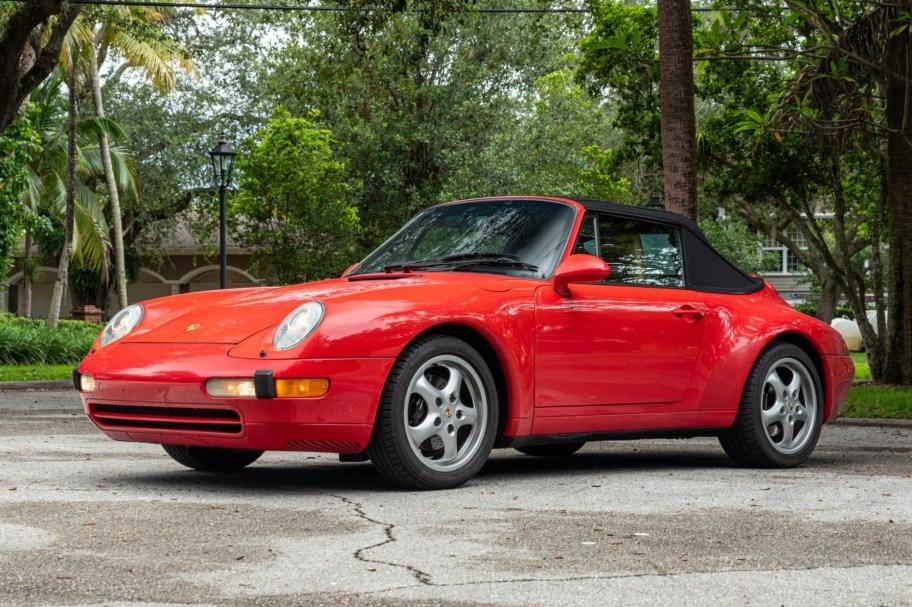 Original-Owner 1995 Porsche 911 Carrera Cabriolet 6-Speed