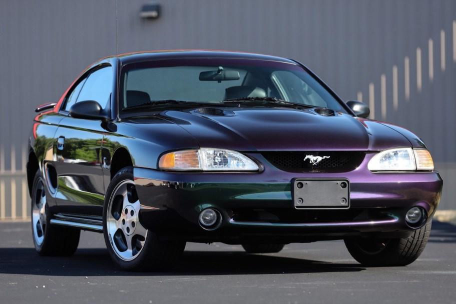 13k-Mile 1996 Ford Mustang SVT Cobra