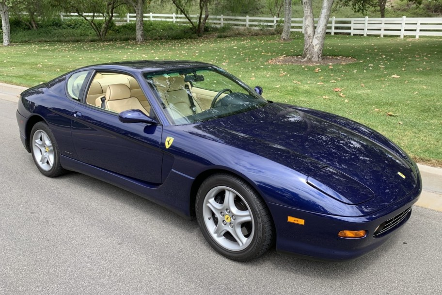14k-Mile 1999 Ferrari 456M GTA