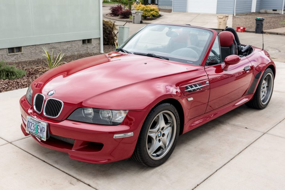 36k-Mile 2002 BMW M Roadster S54