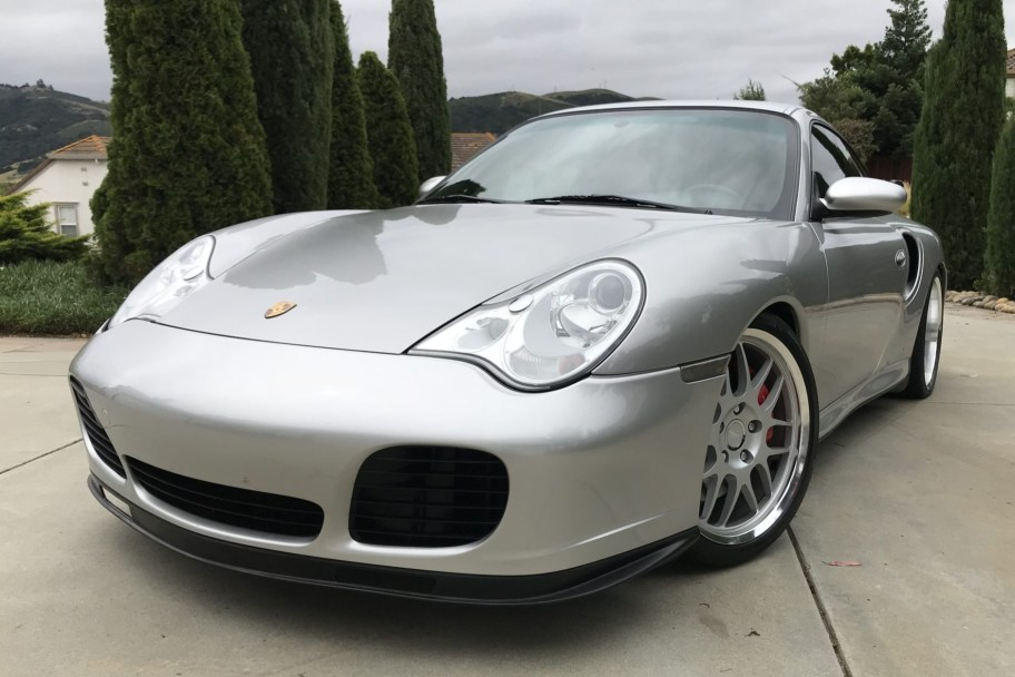 29k-Mile 2003 Porsche 911 Turbo Coupe 6-Speed