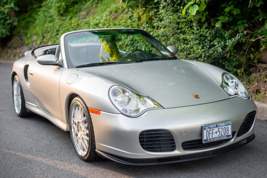 16k-Mile 2004 Porsche 911 Turbo Cabriolet 6-Speed