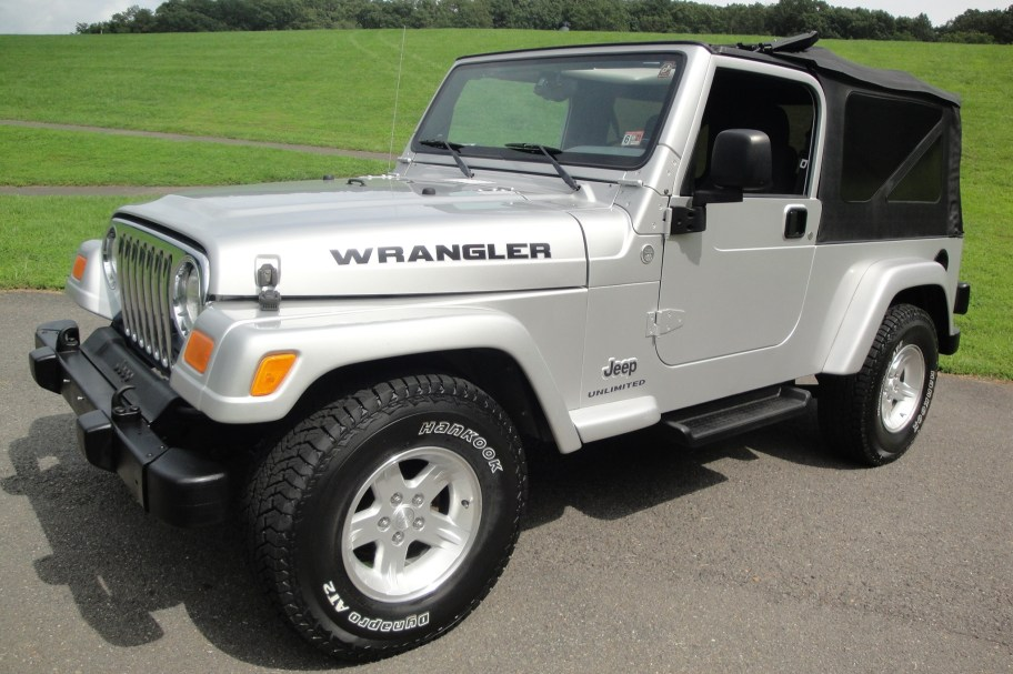 2005 Jeep Wrangler Unlimited 6-Speed