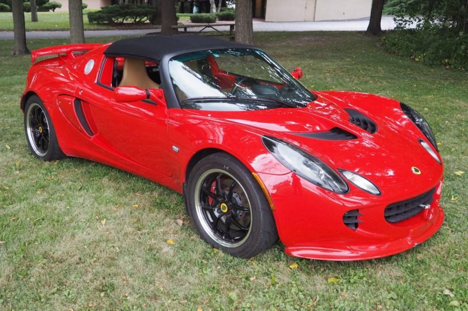Supercharged 2006 Lotus Elise