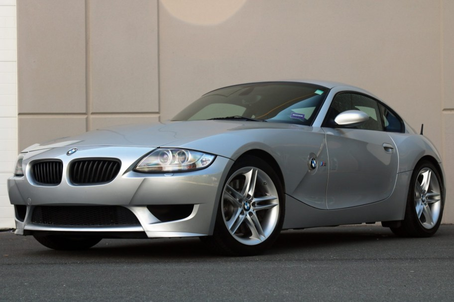 38k-Mile 2007 BMW Z4 M Coupe