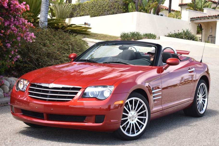 No Reserve: 12k-Mile 2007 Chrysler Crossfire Convertible