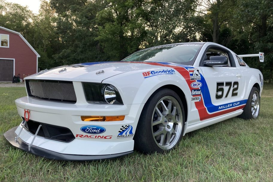 150-Mile 2008 Ford Mustang FR500S Race Car
