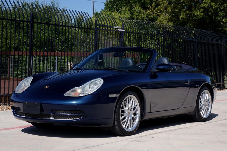 No Reserve: 1999 Porsche 911 Carrera Cabriolet