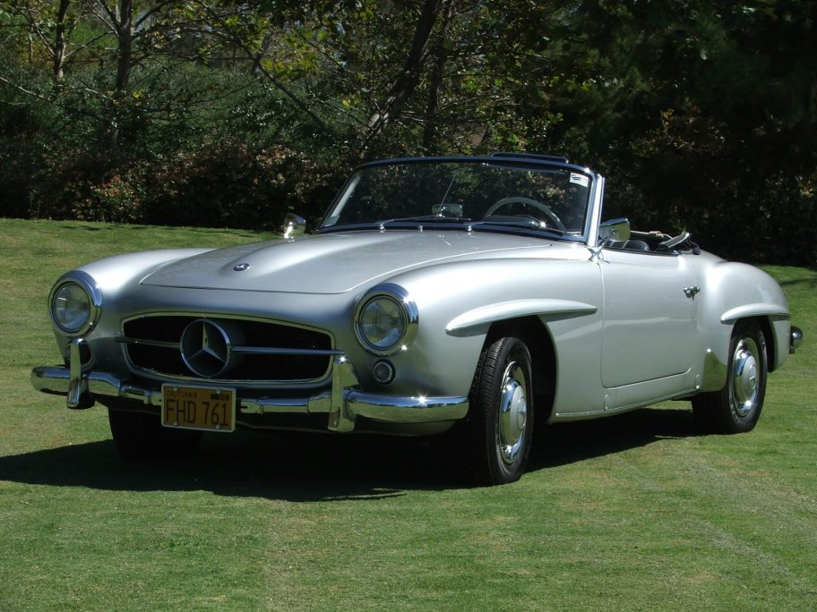 48-Years-Owned 1957 Mercedes-Benz 190SL