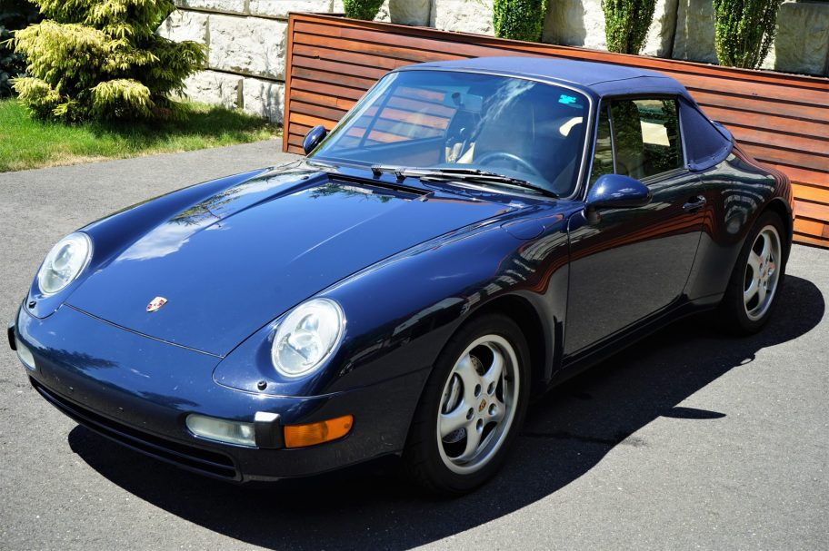 37k-Mile 1997 Porsche 911 Carrera 4 Cabriolet 6-Speed
