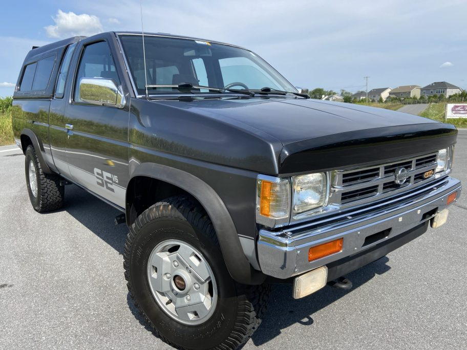 No Reserve: 1992 Nissan Hardbody King Cab SE-V6 4×4