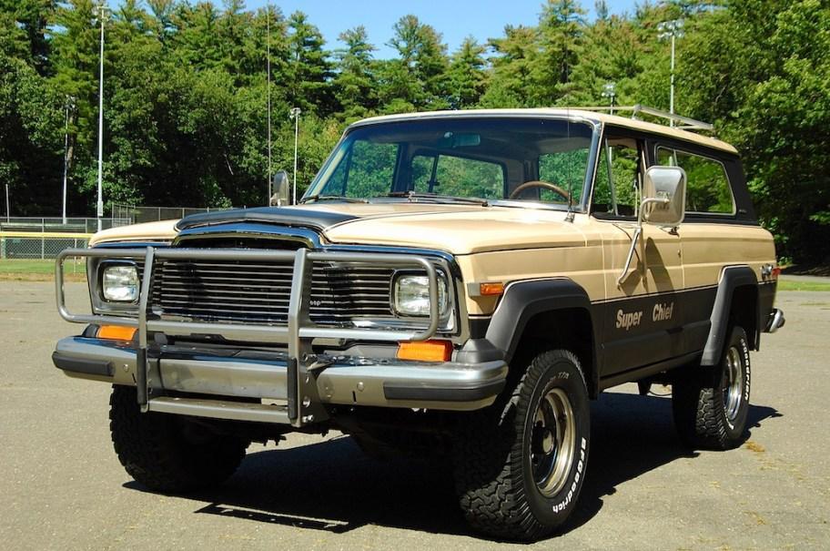 1980 Jeep Cherokee Chief 4x4