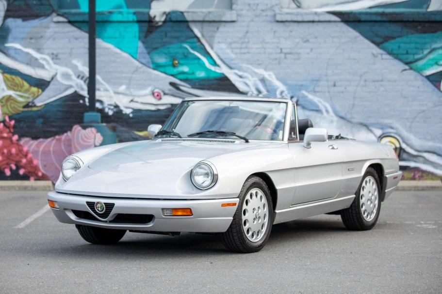 No Reserve: 1993 Alfa Romeo Spider Veloce