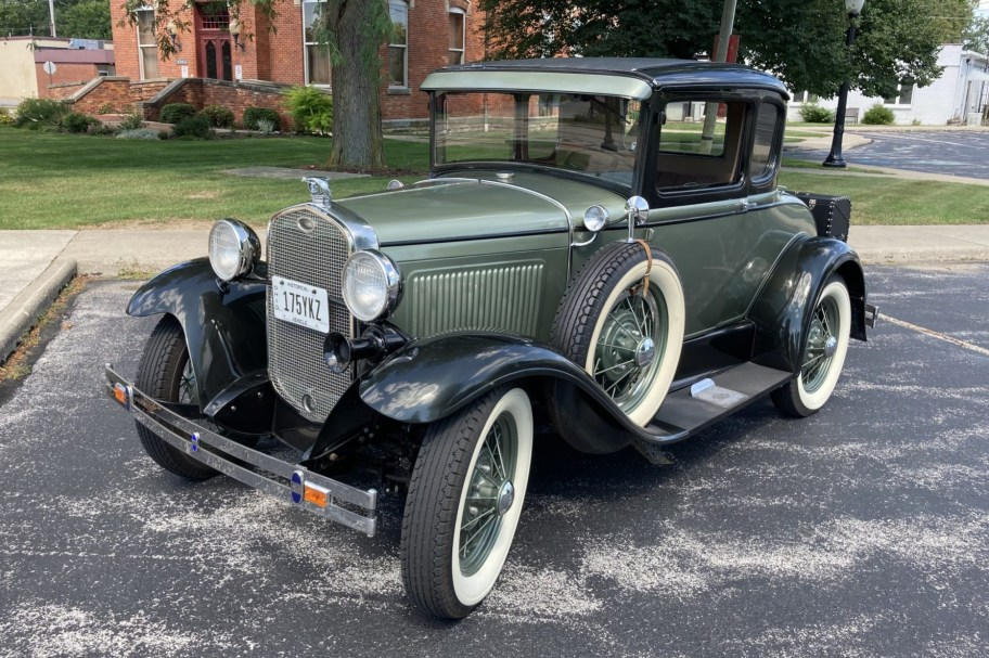 1931 Ford Model A Deluxe Five-Window Coupe