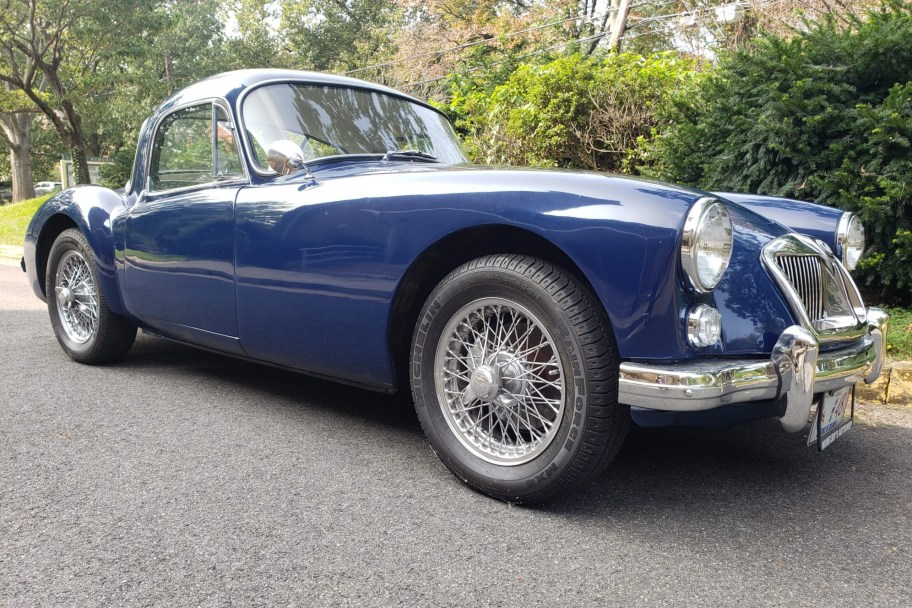1962 MG MGA Mk II Fixed Head Coupe