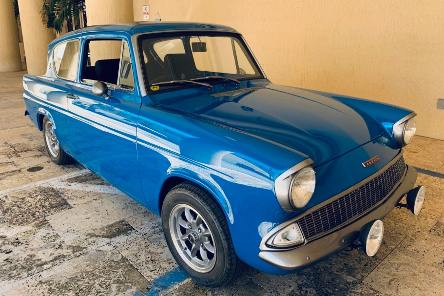 No Reserve: Modified 1965 Ford Anglia 1.5L 5-Speed