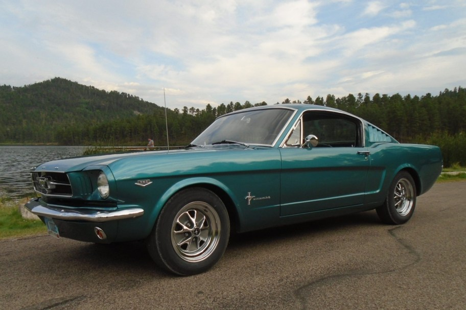 K-Code 1965 Ford Mustang Fastback 4-Speed