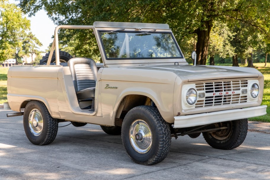 No Reserve: 1966 Ford Bronco Roadster 3-Speed