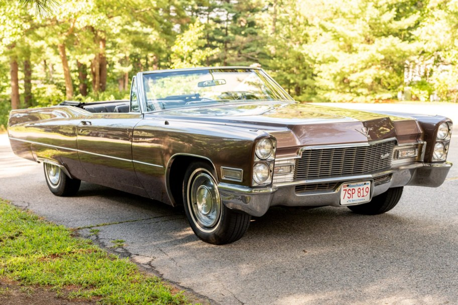 No Reserve: 1968 Cadillac DeVille Convertible