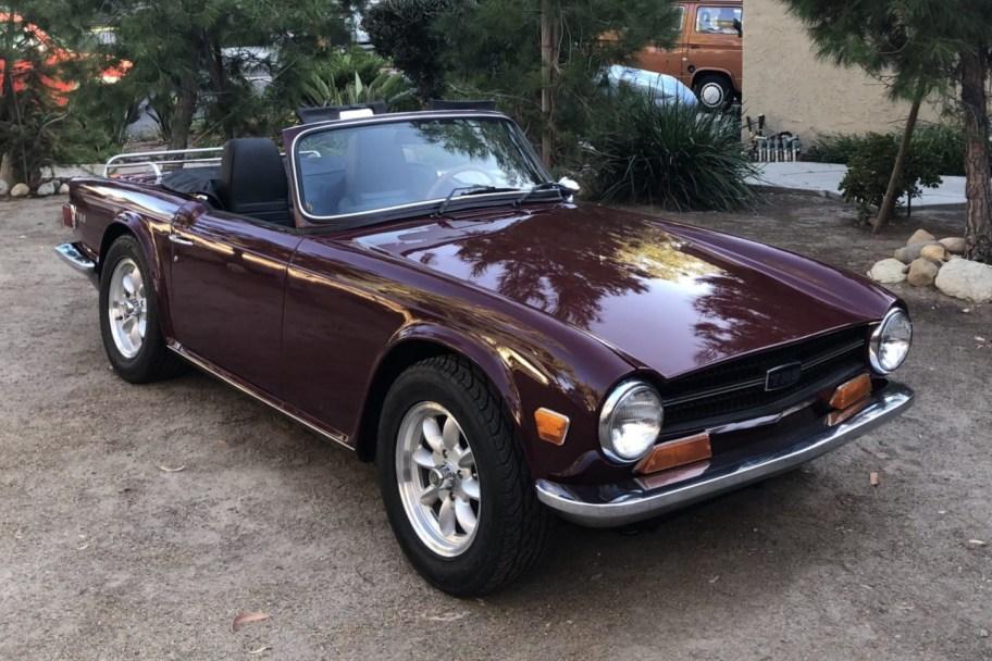 1969 Triumph TR6 w/Overdrive