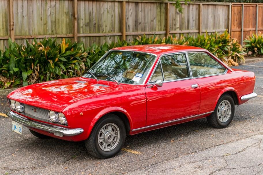 Euro 1970 Fiat 124 Sport Coupe 1600