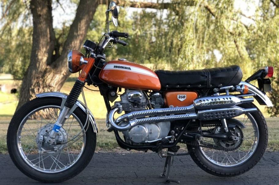 No Reserve: 1970 Honda CL350 Scrambler