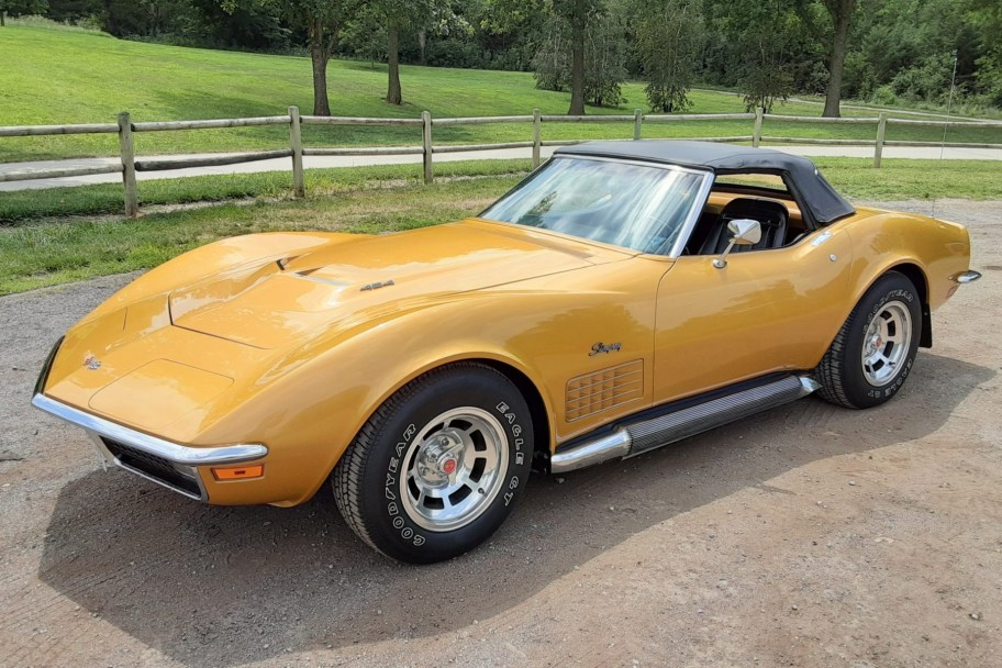 1971 Chevrolet Corvette Convertible 454/365 4-Speed