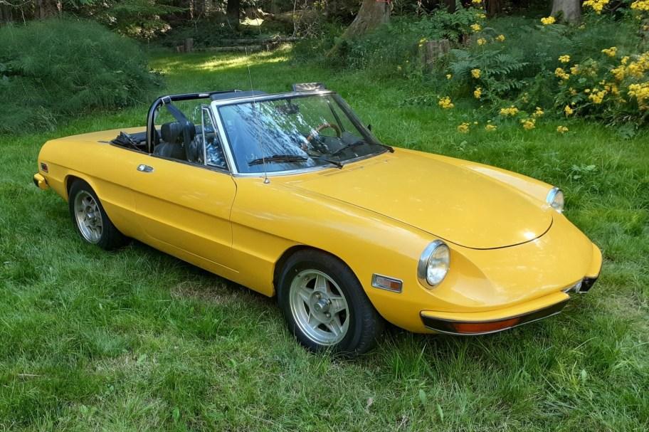 No Reserve: 1972 Alfa Romeo 2000 Spider Veloce