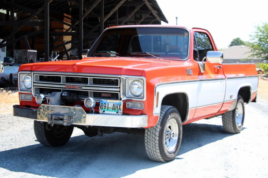 1975 GMC K1500 High Sierra 4x4