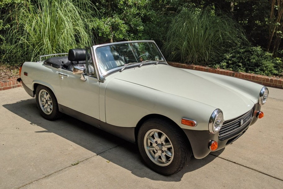 No Reserve: Toyota-Powered 1976 MG Midget