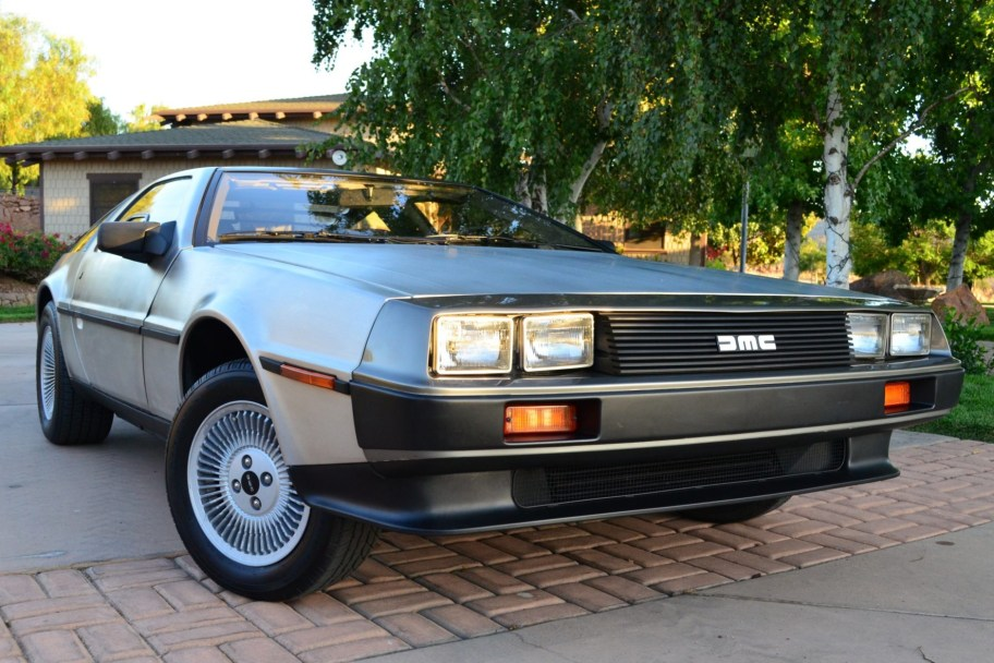 Original-Owner 12k-Mile 1981 DeLorean DMC-12