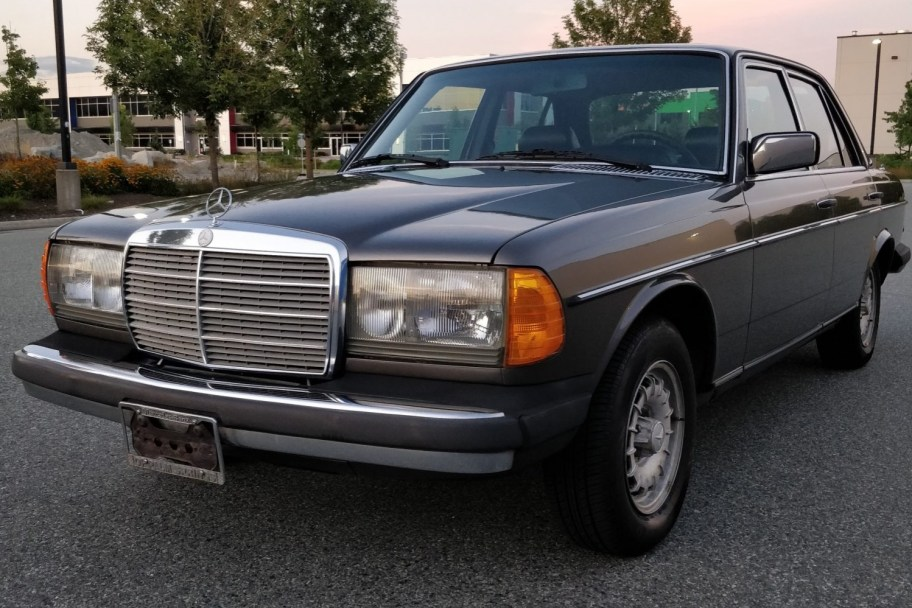 No Reserve: 1982 Mercedes-Benz 300D Turbo