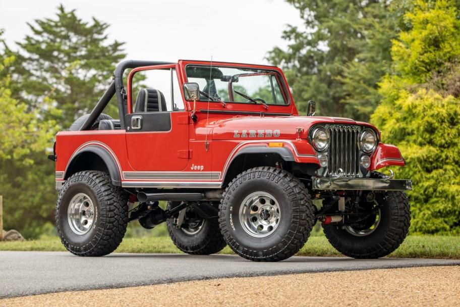 360-Powered 1983 Jeep CJ-7 Laredo 5-Speed