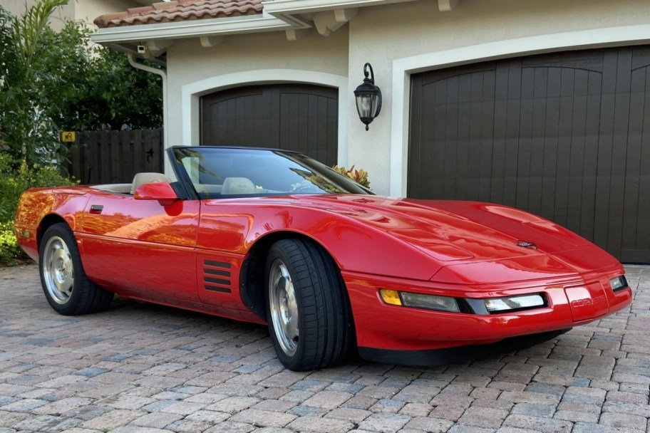 No Reserve: 24k-Mile 1994 Chevrolet Corvette Convertible 6-Speed