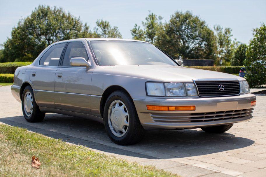 5,400-Mile 1994 Lexus LS400