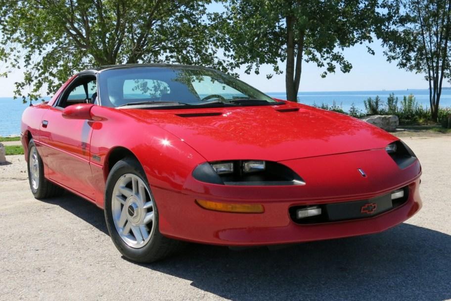 No Reserve: 6,700-Mile 1995 Chevrolet Camaro Z28 Coupe 6-Speed