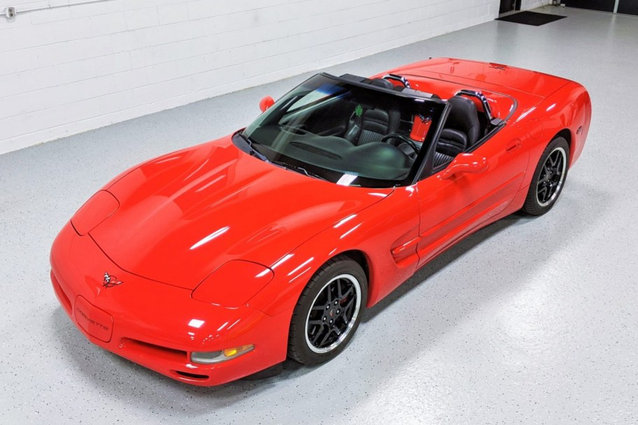 No Reserve: 1998 Chevrolet Corvette Convertible