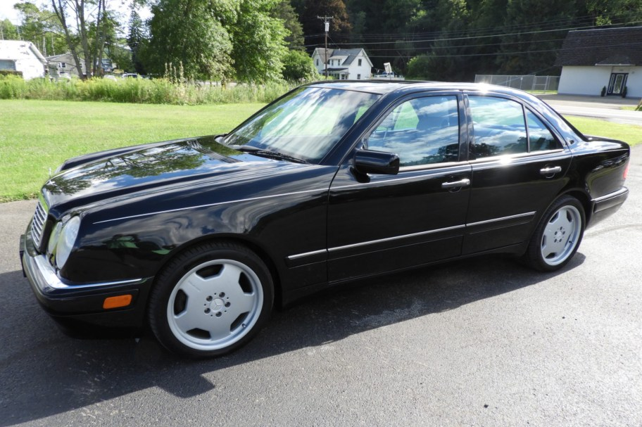 No Reserve: 1999 Mercedes-Benz E55 AMG